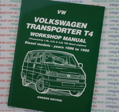 Volkswagen VW Transporter T4 Diesel Only 1996 1999   Brooklands Books Ltd UK