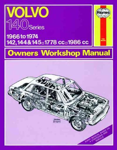 Volvo 142 144 145 1966 1974 Haynes Service Repair Manual
