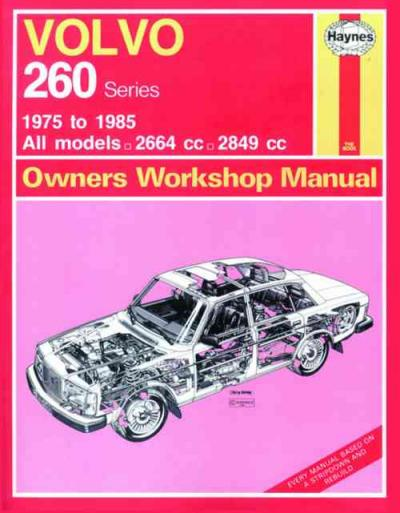Volvo 260 Series 1975 1985 Haynes Service Repair Manual