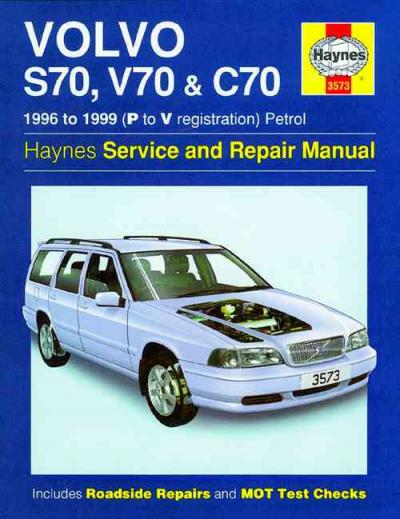 Volvo S70 V70 C70 1996 1999 Haynes Service Repair Manual    UK