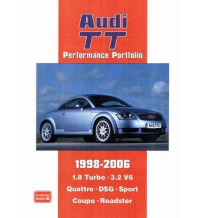 audi tt performance portfolio 1998 2006 sagin workshop car manuals repair books information. Black Bedroom Furniture Sets. Home Design Ideas