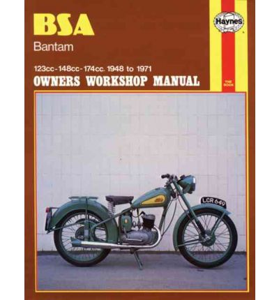 B. S. A. Bantam Owner's Workshop Manual