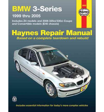 bmw 3 series e46 workshop manual 1999 2005 repair manual sagin workshop ca. Black Bedroom Furniture Sets. Home Design Ideas