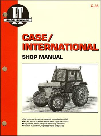 Case International Farm Tractor Owners Service & Repair Manual