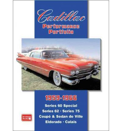 Cadillac Performance Portfolio 1959 1966 Sagin Workshop border=