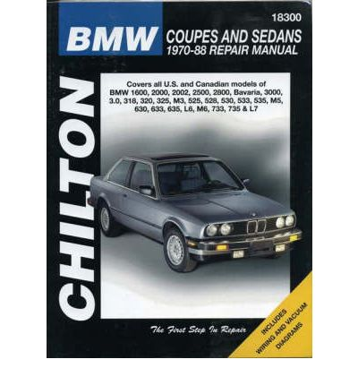 Chilton BMW Saloons and Coupes (1970-84)
