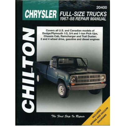 Chrysler Full Size Trucks (1967-88)