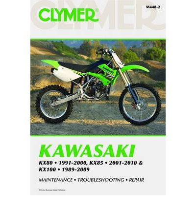Clymer Kawasaki Kx80 1991 2000 Kx85 2001 2010 And Kx100 border=