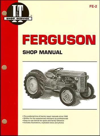Ferguson Farm Tractor Owners Service & Repair Manual