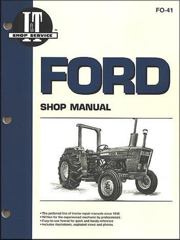 Ford New Holland Farm Tractor Owners Service & Repair Manual