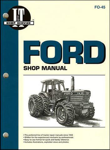 Ford New Holland TW Farm Tractor Owners Service & Repair Manual