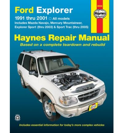 Ford Explorer, Mazda Navajo, Mercury Mountaineer (91 - 05)