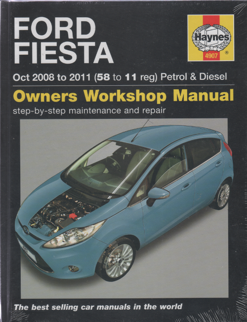 ford fiesta petrol and diesel 2008 2011 haynes workshop. Black Bedroom Furniture Sets. Home Design Ideas