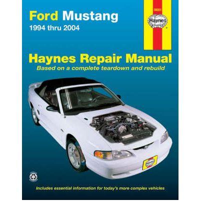 ford mustang automotive repair manual sagin workshop car. Black Bedroom Furniture Sets. Home Design Ideas