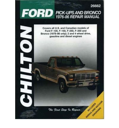 Ford Pick-ups and Bronco (1976-86) - sagin workshop car ...