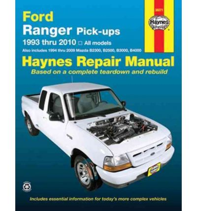 Ford Ranger Pick Ups Service and Repair Manual - sagin workshop car