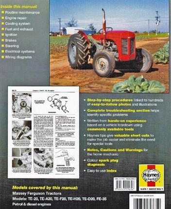 Massey Ferguson Fe35 Manual