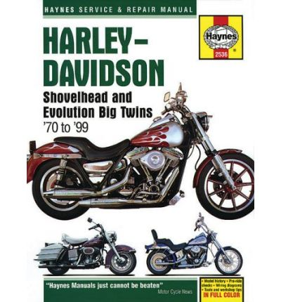 Harley-Davidson Shovelhead and Evolution Big Twins 1970 to 1999