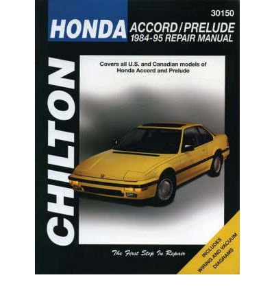 Honda Accord and Prelude (1984-95) Workshop manual