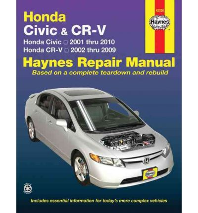 Honda Civic & CRV Automotive Repair Manual