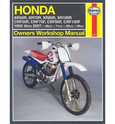 Honda XR50/70/80/100R and CRF50/70/80/100F
