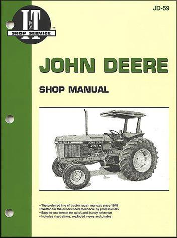 John Deere Farm Tractor Owners Service & Repair Manual