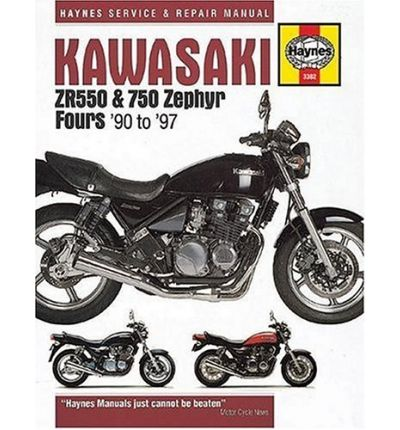 Kawasaki ZR550 and 750 Zephyr Fours (90-97) Service and Repair Manual