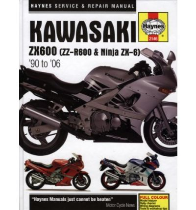 Kawasaki ZX600 (ZZ-R600 & Ninja ZX-6) Service and Repair Manual