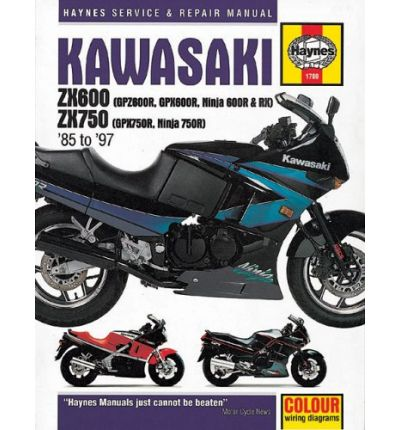 Kawasaki ZX600 and 750 Fours (85-97) Service and Repair Manual