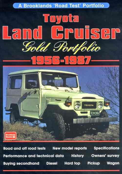 Toyota Land Cruiser Gold Portfolio 1956-1987