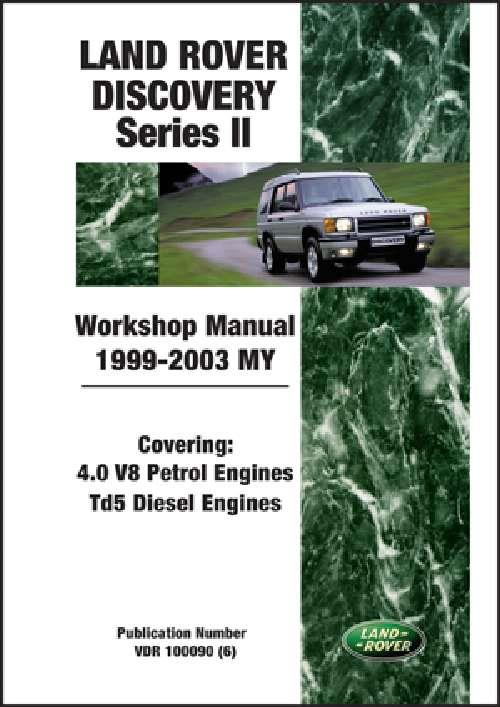 Land Rover Discovery Series 2 1999 2003 Workshop Manual   Brooklands Books Ltd UK