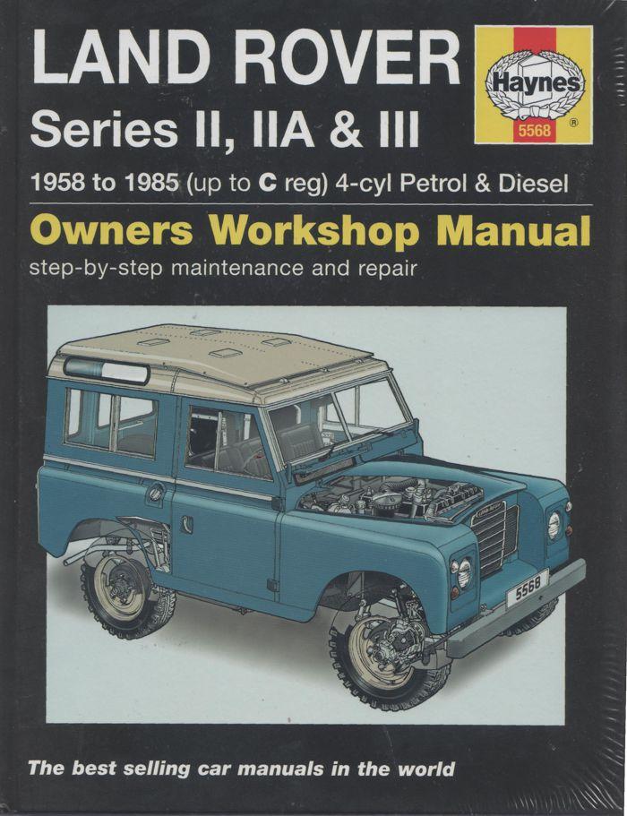 Land Rover Series Ii Iia Iii Repair Manual 1958
