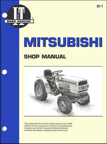 mitsubishi tractor owners service & repair manual - sagin ... ford 4630 tractor wiring diagram mitsubishi compact tractor wiring diagram