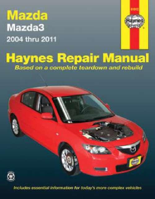Mazda 3 Workshop Owners Repair Manual Haynes 2004