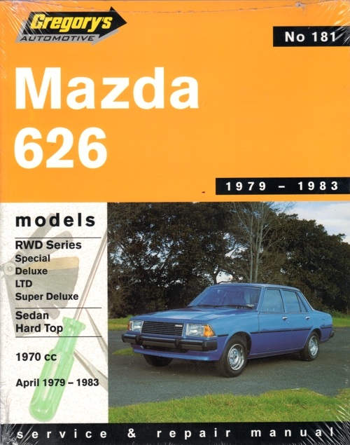 Mazda 626 RWD 1979 1983 Gregorys Service Repair Manual