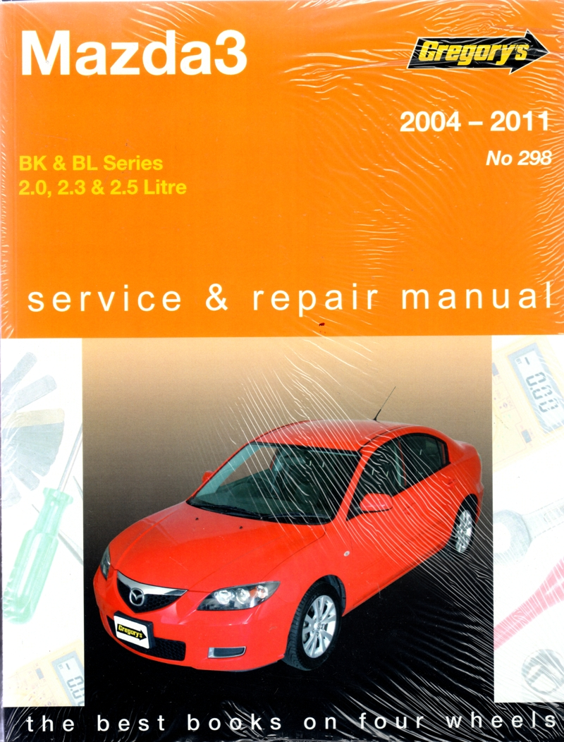 Mazda3 2004 - 2011 Gregorys Workshop Repair Manual