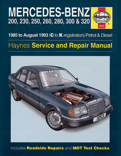Mercedes benz 124 series 1985 1993 haynes sagin workshop for Mercedes benz online repair manual