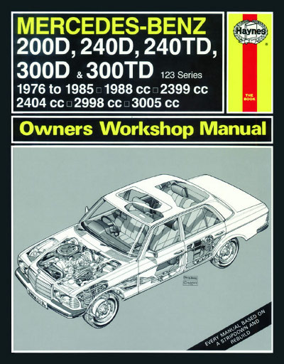 Mercedes Benz 200D, 240D, 240TD, 300D and 300TD - Haynes - NEW