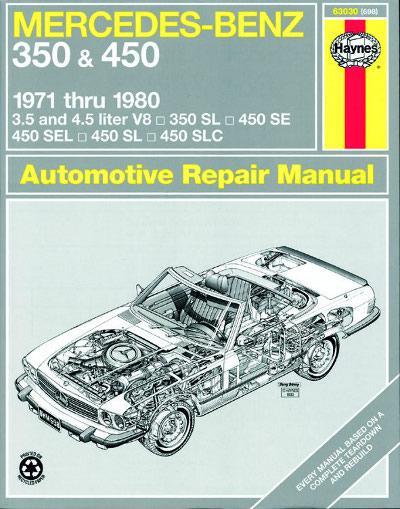 Mercedes benz 350 and 450 haynes new sagin workshop for Mercedes benz service repair manual