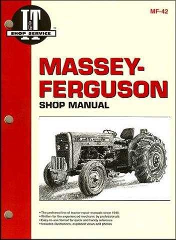 Massey Ferguson Farm Tractor Owners Service & Repair Manual