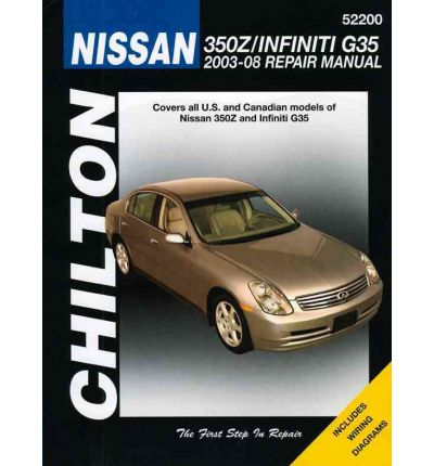 Nissan 350Z & Infiniti Automotive Repair Manual