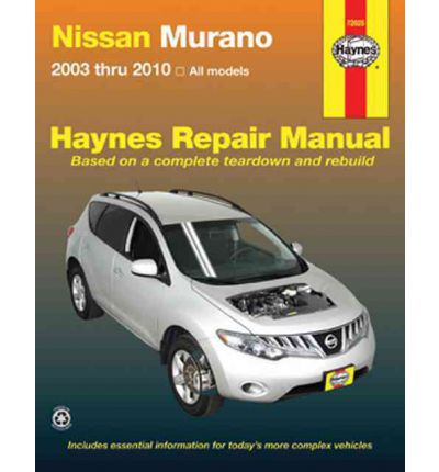 Nissan Murano Service and Repair Manual