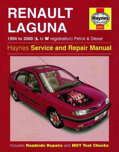Renault Laguna Workshop Manual 1994-2000 Haynes