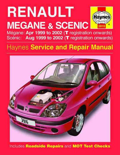 Renault Megane And Scenic Haynes Sagin Workshop Car