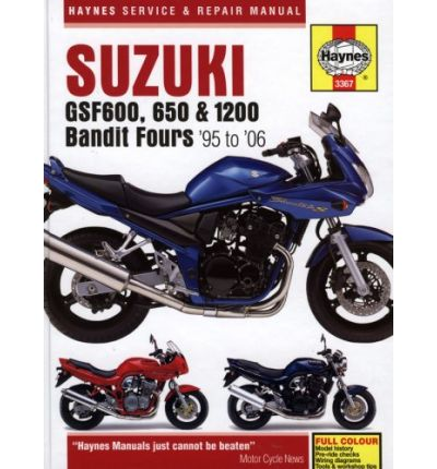 Suzuki GSF600, 650 and 1200 Bandit Service and Repair Manual