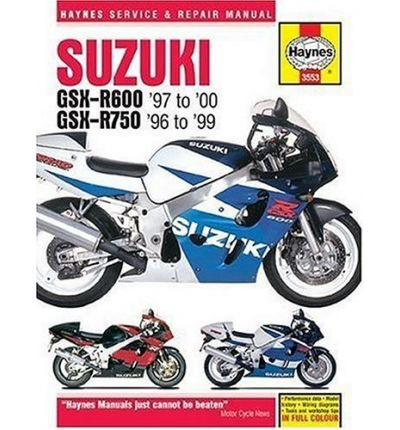 Suzuki GSX-R600 and 750 Service and Repair Manual