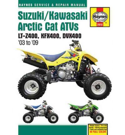 Suzuki/Kawasaki Arctic Cat ATV's Service and Repair Manual