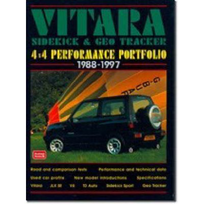 Suzuki Vitara, Sidekick and Geo Tracker 4 X 4 Performance Portfolio, 1988-97