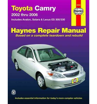 toyota camry 2002 2006 repair manual sagin workshop car manuals repair book. Black Bedroom Furniture Sets. Home Design Ideas