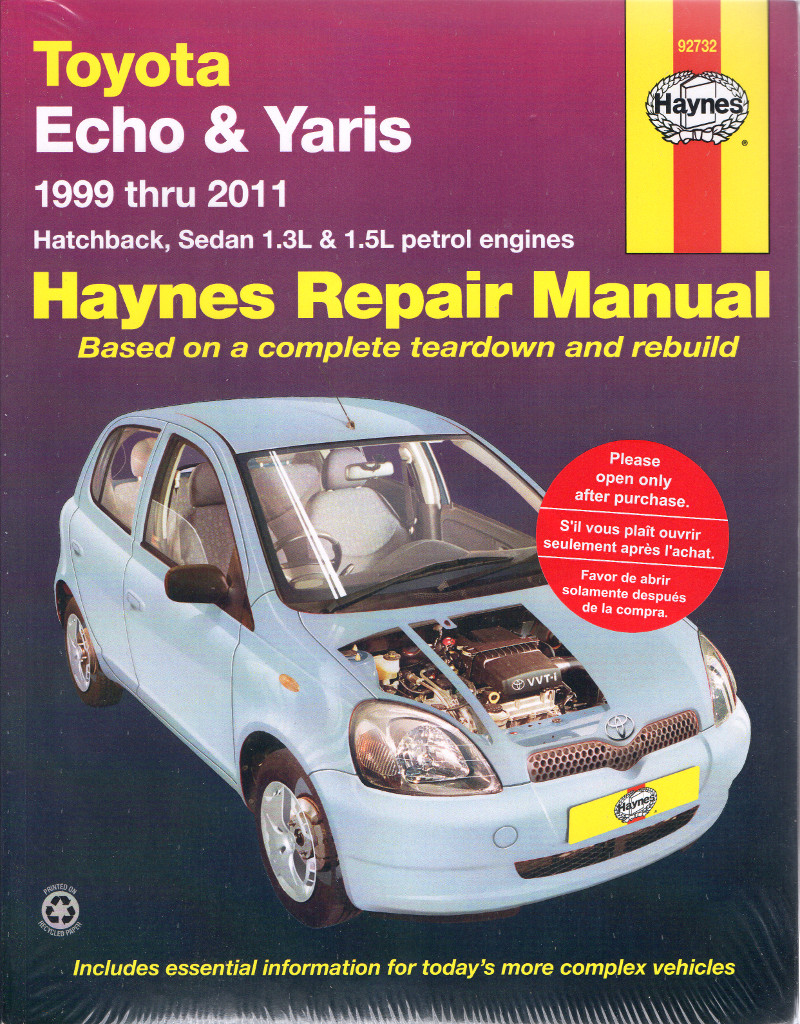 toyota echo yaris 1999 2011 haynes service repair manual sagin rh workshoprepairmanual com au Toyota Belta 2013 Model Toyota Yaris Car
